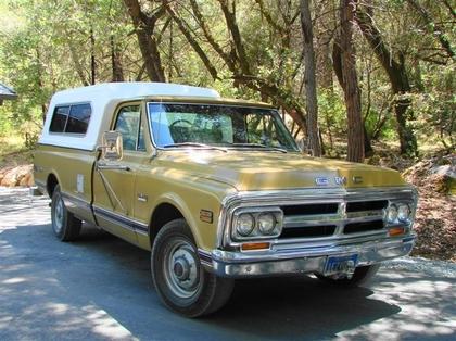 1970 gmc sierra grande 2500 3 4 ton custom camper gmc trucks for sale old trucks antique. Black Bedroom Furniture Sets. Home Design Ideas