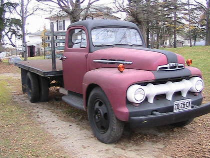 Truck Parts Truck Accessories For Chevy Gmc Ford Dodge >> 1951 Ford F6 - Ford Trucks for Sale   Old Trucks, Antique ...