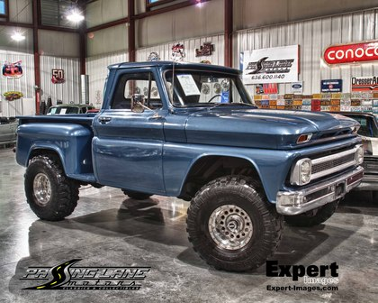1966 Chevy C-10 Short-bed Step-side with 4x4 - Chevrolet ...