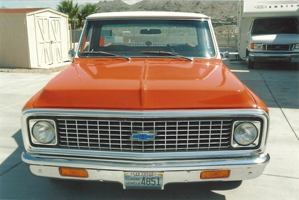 1972 Chevy Cheyenne 20 Super