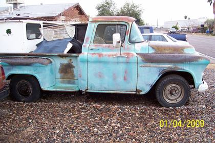 1955 Chevy three quarter ton