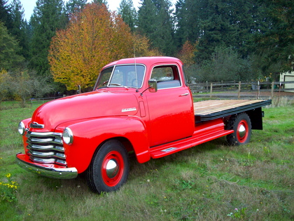 1948 chevy 1 ton chevrolet chevy trucks for sale old trucks antique trucks vintage. Black Bedroom Furniture Sets. Home Design Ideas