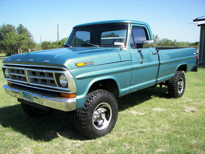 1971 Ford F250 - Ford Trucks for Sale | Old Trucks ...