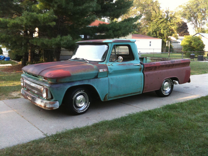 1965 chevy c 10 chevrolet chevy trucks for sale old trucks antique trucks vintage. Black Bedroom Furniture Sets. Home Design Ideas