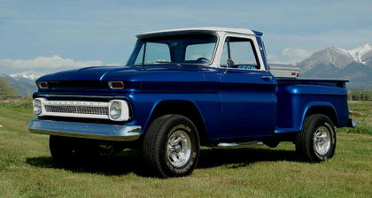 1966 chevy c10 pickup chevrolet chevy trucks for sale old trucks antique trucks vintage. Black Bedroom Furniture Sets. Home Design Ideas
