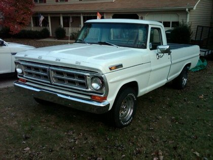 1971 Ford F100 Ford Trucks For Sale Old Trucks