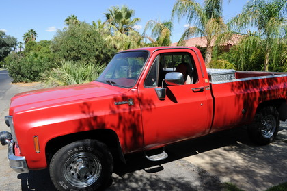 1977 Chevy scottsdale 30 camper special