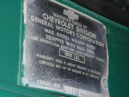 1951 Chevy C3800 series