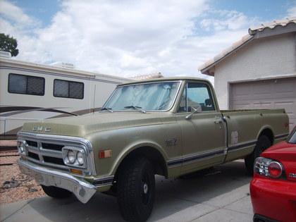 1970 GMC Custom Camper Deluxe