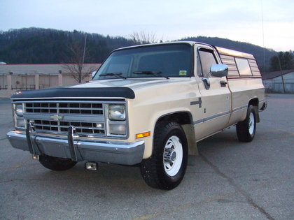 1986 chevy ck20 3 4 ton chevrolet chevy trucks for sale old trucks antique trucks. Black Bedroom Furniture Sets. Home Design Ideas