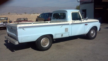1966 Ford F250 Camper Special Ford Trucks For Sale Old