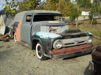 1956 ford panel ford trucks for sale old trucks antique trucks vintage trucks for sale. Black Bedroom Furniture Sets. Home Design Ideas