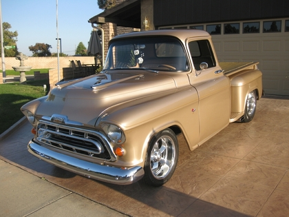 1957 Chevy step side short bed