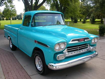 1959 Chevy Apache Chevrolet Chevy Trucks For Sale
