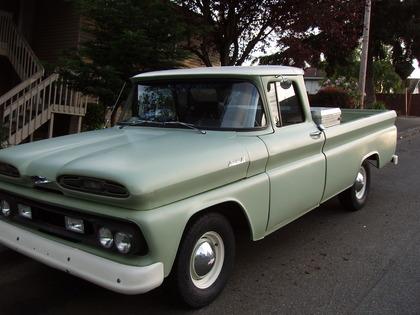 1961 Chevy Apache Pickup Truck Chevrolet Chevy Trucks