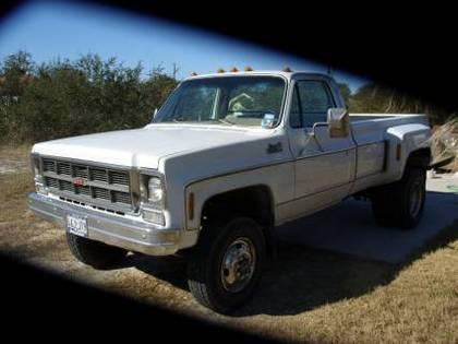 1978 GMC sierra classic 4×4 dually k3500
