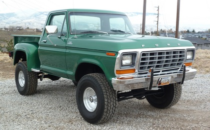 1979 Ford F150 Ranger 4x4 Ford Trucks For Sale Old