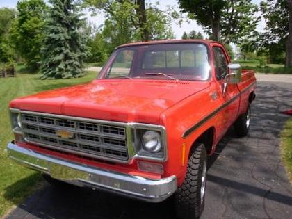 1977 Chevy 3 4 Ton Chevrolet Chevy Trucks For Sale