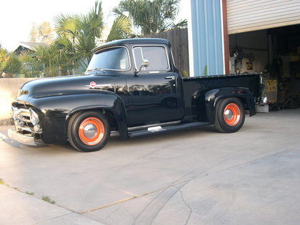 1956 ford f100 ford trucks for sale old trucks antique trucks vintage trucks for sale. Black Bedroom Furniture Sets. Home Design Ideas