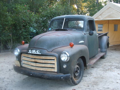 1952 Gmc Lwb Pickup Gmc Trucks For Sale Old Trucks