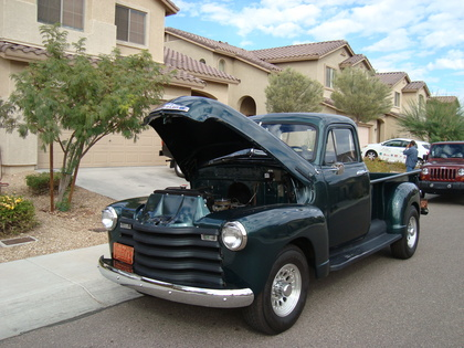1952 chevy 3 4 ton pick up classic antique chevrolet chevy trucks for sale old trucks. Black Bedroom Furniture Sets. Home Design Ideas