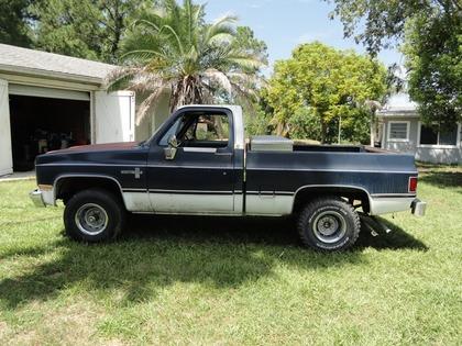 1984 Chevy Scottsdale Chevrolet Chevy Trucks For Sale