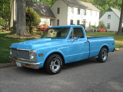 1971 Chevy C10 Shortbed Chevrolet Chevy Trucks For