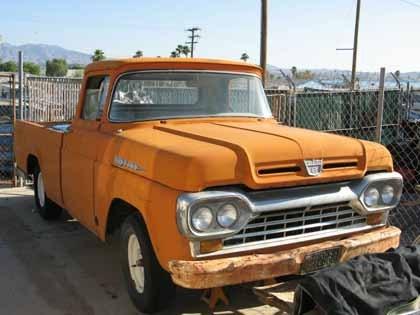 1960 ford f100 delux ford trucks for sale old trucks antique trucks vintage trucks for. Black Bedroom Furniture Sets. Home Design Ideas