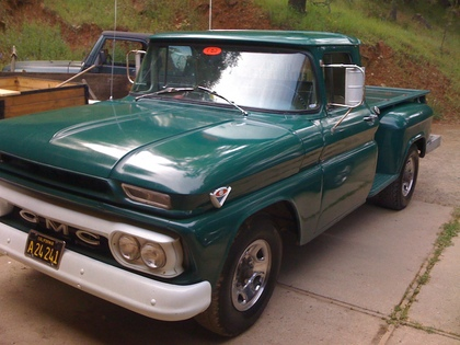 Gmc Shiny on 1962 Ford Truck