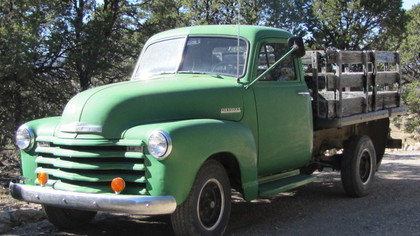1951 chevy 3 4 ton chevrolet chevy trucks for sale old trucks antique trucks vintage. Black Bedroom Furniture Sets. Home Design Ideas