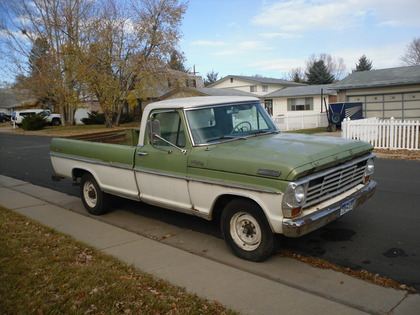 1967 Ford F250 Ranger Camper Special Ford Trucks For