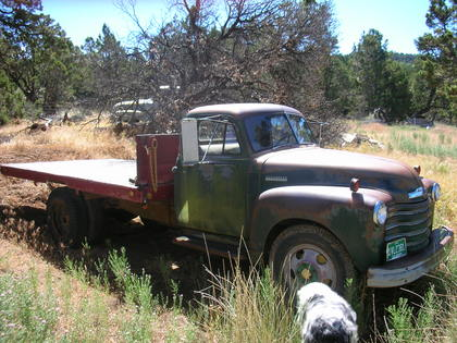 1951 Chevy 3800 ton and a half steak bed