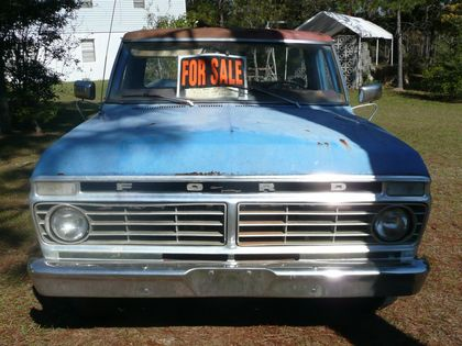 1974 Ford F100 Ranger Ford Trucks For Sale Old Trucks