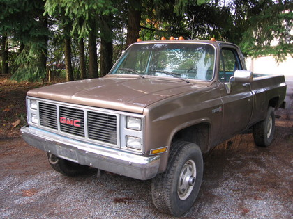 1987 gmc 1 ton 4x4 gmc trucks for sale old trucks antique trucks vintage trucks for sale. Black Bedroom Furniture Sets. Home Design Ideas