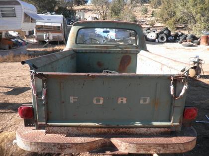 1961 Ford F100 Shortbed Stepside - Ford Trucks for Sale ...