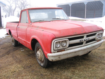 1967 GMC 3/4 Ton V8 4 speed 2 wd - GMC Trucks for Sale | Old