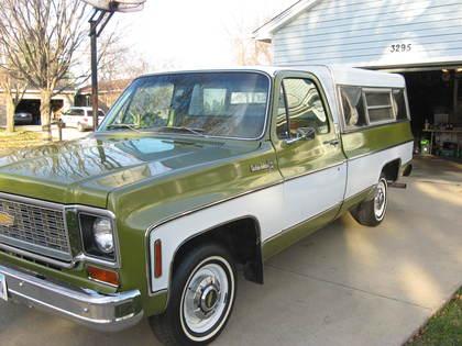 1974 chevy custom deluxe chevrolet chevy trucks for sale old trucks antique trucks. Black Bedroom Furniture Sets. Home Design Ideas