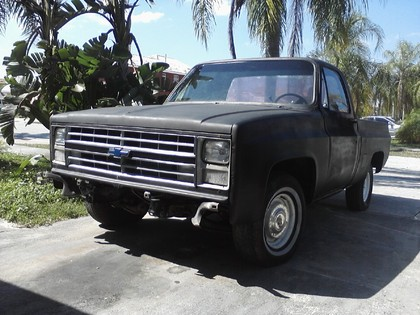 1985 chevy c10 deluxe chevrolet chevy trucks for sale old trucks antique trucks vintage. Black Bedroom Furniture Sets. Home Design Ideas