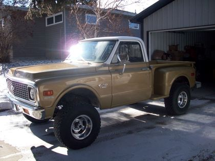 1970 chevy c 10 stepside chevrolet chevy trucks for sale old trucks antique trucks. Black Bedroom Furniture Sets. Home Design Ideas