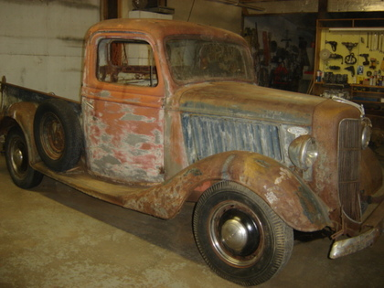 1936 Ford 1/2 Ton Short Box - Ford Trucks for Sale | Old ...