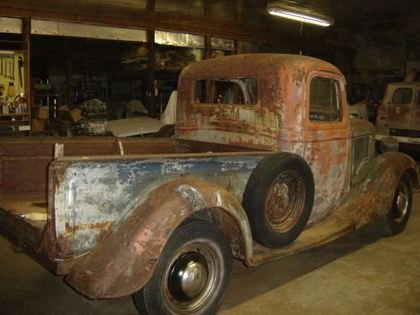 Gmc Truck Parts >> 1936 Ford 1/2 Ton Short Box - Ford Trucks for Sale | Old ...