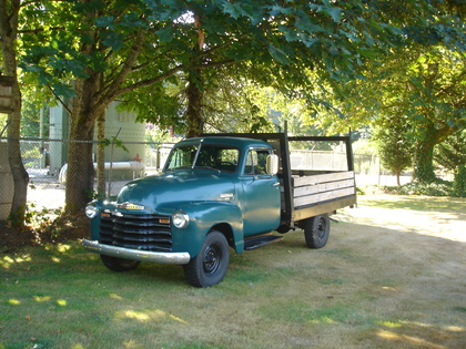 1951 Chevy 3800 Chevrolet Chevy Trucks For Sale Old