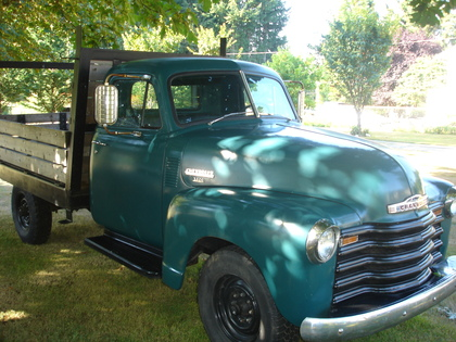 1951 chevy 3800 chevrolet chevy trucks for sale old trucks antique trucks vintage. Black Bedroom Furniture Sets. Home Design Ideas