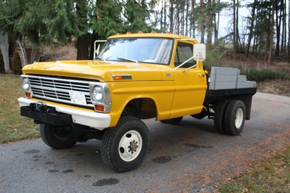 1969 Ford F350 Napco 4x4 Ford Trucks For Sale Old