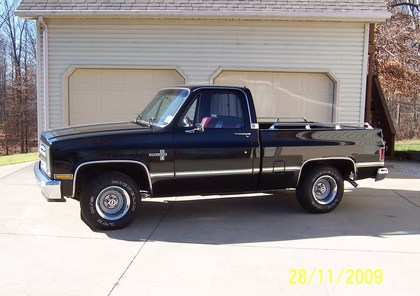 1985 chevy silverado chevrolet chevy trucks for sale old trucks antique trucks vintage. Black Bedroom Furniture Sets. Home Design Ideas