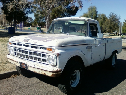 1966 Ford F100 4x4 Shortbed Ford Trucks For Sale Old