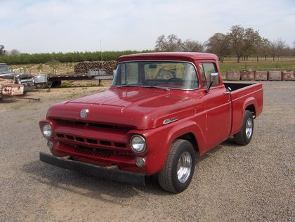 1957 Ford F100 Stock Short Bed Big Rear Window Ford
