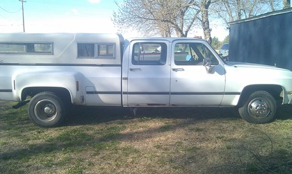 1988 chevy silverado 3500 chevrolet chevy trucks for sale old trucks antique trucks. Black Bedroom Furniture Sets. Home Design Ideas