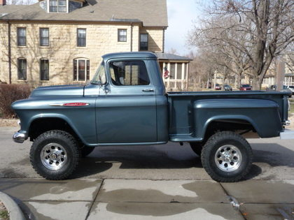 1957 chevy 3200 1 2 ton 4x4 chevrolet chevy trucks for sale old trucks antique trucks. Black Bedroom Furniture Sets. Home Design Ideas