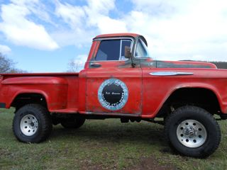 1957 chevy short bed stepside 4x4 chevrolet chevy for Classic beds for sale